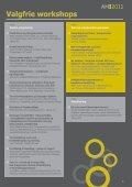Arbejdsmiljøkonferencen 2011 - Arbejdsmiljørådgiverne - Page 5