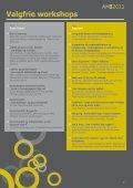 Arbejdsmiljøkonferencen 2011 - Arbejdsmiljørådgiverne - Page 7