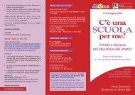 depliant conv. desenzano.indd - Edizioni Junior