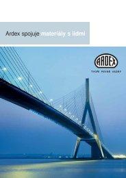 ARDEX spojuje materiály s lidmi - prospekt