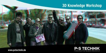 3D Knowledge Workshop - P+S TECHNIK
