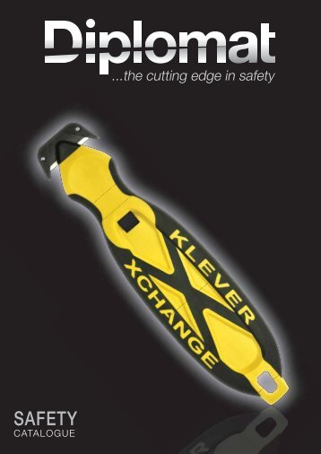 Safety Catalogue - Diplomat Blades