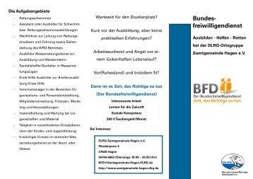 Bundesfreiwilligendienst - DLRG Ortsgruppe Samtgemeinde Hagen ...