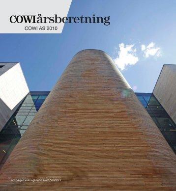 Årsberetning 2010 COWI AS (pdf)