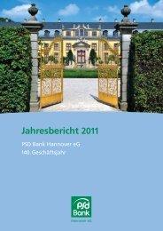 Jahresbericht 2011 - PSD Bank Hannover eG