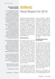 BilMoG – Neue Regeln für 2010 - PerspektivePraxis.de