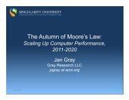 The Autumn of Moore's Law: - FPGA CPU