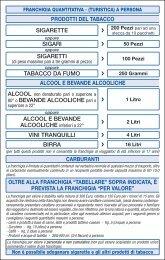tabella merceologica - Livigno24.com