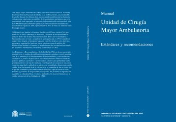 Unidad de Cirugía Mayor Ambulatoria - AEC_____Asociación ...