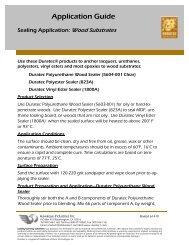 Sealing Application: Wood Substrates - Hawkeye Industries