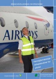 hensigtsmæssige arbejdsrutiner for piloter - BAR transport og engros