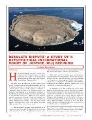 DESOlATE DiSpUTE: A STUDy Of A HypOTHETiCAl ...