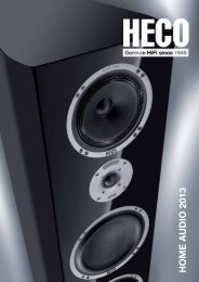 HECO Home Audio 2013 - Audioton