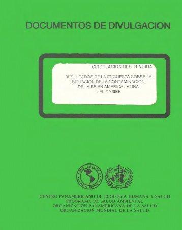 DOCUMENTOS DE DIVULGACIÓN - BVSDE