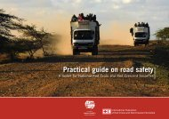 Red Cross Red Crescent action - Global Road Safety Partnership