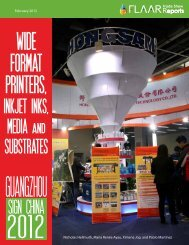 Sign China 2012, UV cured textile printer, flatbed cutters, inks media ...