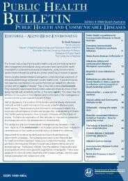 Public Health and Communicable Diseases - SA Health - SA.Gov.au