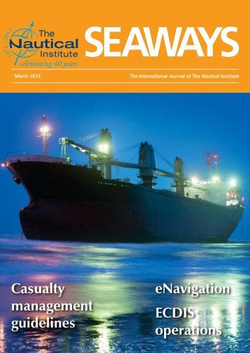 MARS Report No. 233 - March 2012 - West of England Ship Owners ...