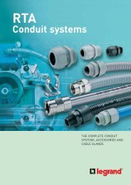 Conduit systems - Legrand