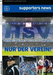 NUR DER VEREIN! - HSV Supporters Club