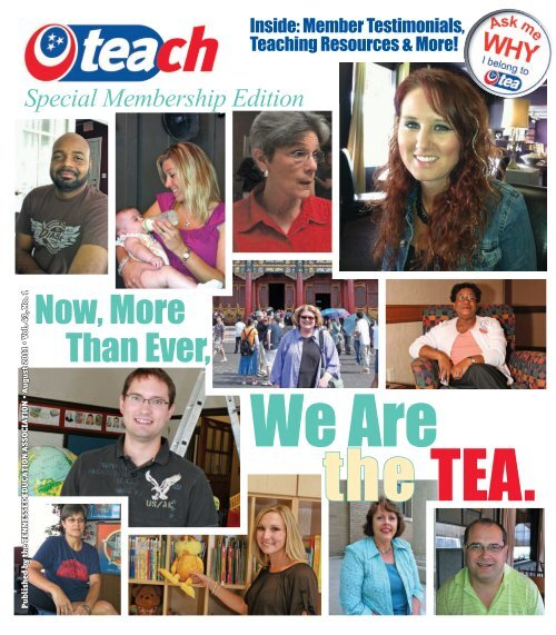 Now, More Than Ever, - Tennessee Education Association