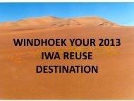 Potable Reuse - IWA