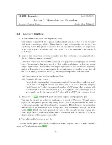 lecture outline template