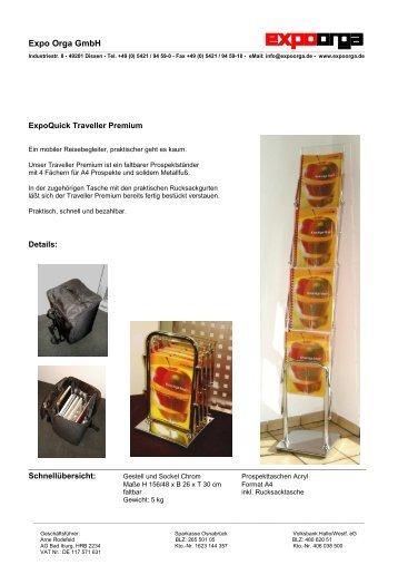 Traveller Premium - expoquick