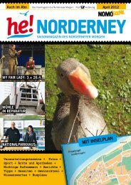 April 2012 als PDF - Norderney