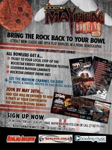 Mayhem Bowling Club Package