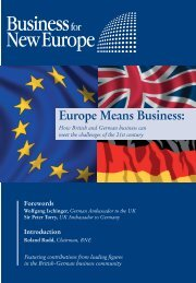 3090 BNE comp with cover - Business for New Europe