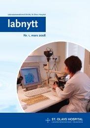 Nr. 1, mars 2008 - St. Olavs Hospital