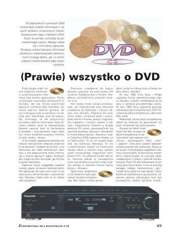 (Prawie) wszystko o DVD - Elportal