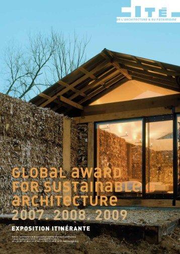 Global award - Cité de l'architecture & du patrimoine