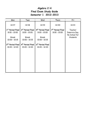 AP US History Semester 1 Final