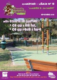 Journal du Quartier-village 18 - Ville d'Agen