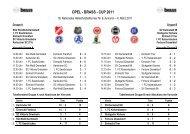 OPEL - BRASS - CUP 2011 - SKV Rot-Weiss Darmstadt