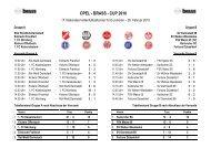OPEL - BRASS - CUP 2010 - SKV Rot-Weiss Darmstadt
