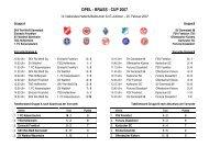 OPEL - BRASS - CUP 2007 - SKV Rot-Weiss Darmstadt