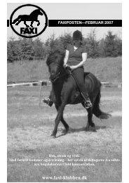 Faxiposten nr. 203 - Faxi-klubben