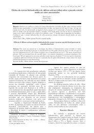 Efeitos do extrato de alho sobre a pressão arterial. - SNC