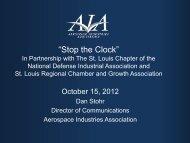 presentation - Aerospace Industries Association