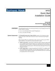 istar pro 4u rack mount quick start installation guide wpsc quick start installation guide tyco security products