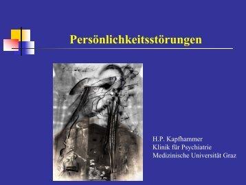 Personlichkeitsstörung - Medizinische Universität Graz