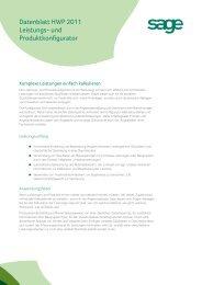 Datenblatt HWP 2011 Leistungs- und ... - Business-Ware