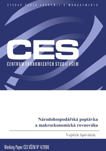 Working Paper CES VÅEM No 4/2006