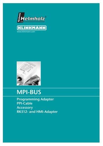 MPI-BUS - Klinkmann.