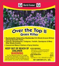 Label 10434 Over The Top II Approved 03-19-12 - Fertilome