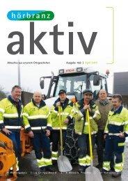 Aktuelles aus unserem Ortsgeschehen Ausgabe 166 | April 2010