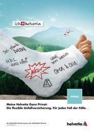 Meine Helvetia Ganz Privat: Die flexible Unfallversicherung. Für ...